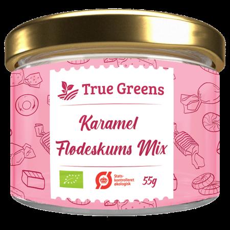Karamel flødeskums mix