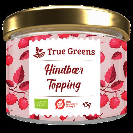 Hindbær topping