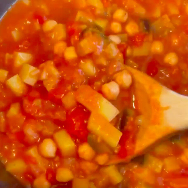 SKØN marokkansk gryderet - helt vegansk 🌱