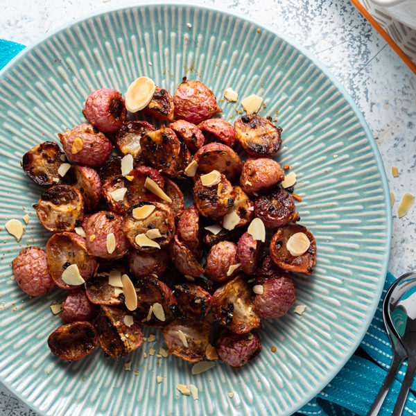Vildt lækre bagte radiser - tasty tilbehør til mange retter